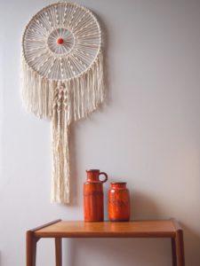 Le macramé s'inscrit fortement dans les tendances de décoration