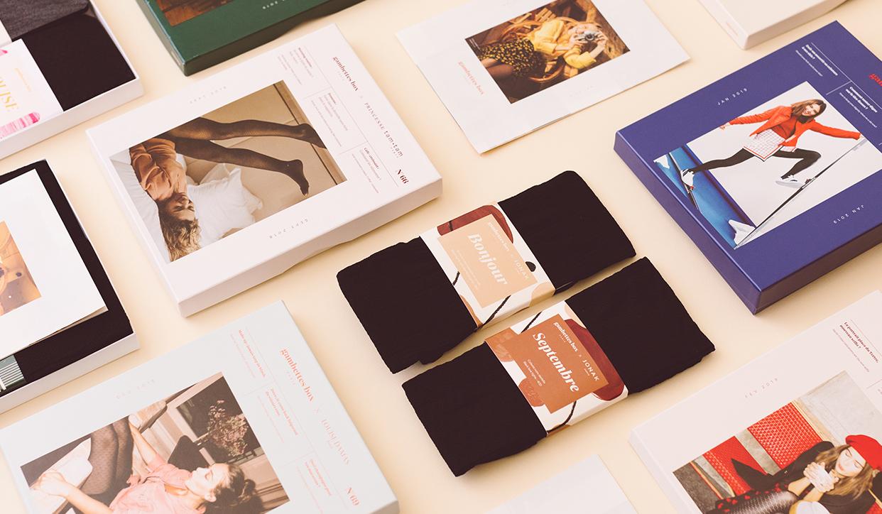 Gambettes Box : deux paires de collants chaque mois chez vous