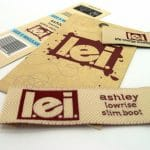 Des étiquettes en cuir pour personnaliser vos vêtements et vos accessoires