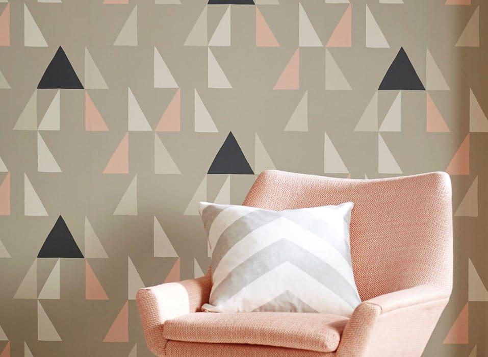Oser le papier peint géométrique