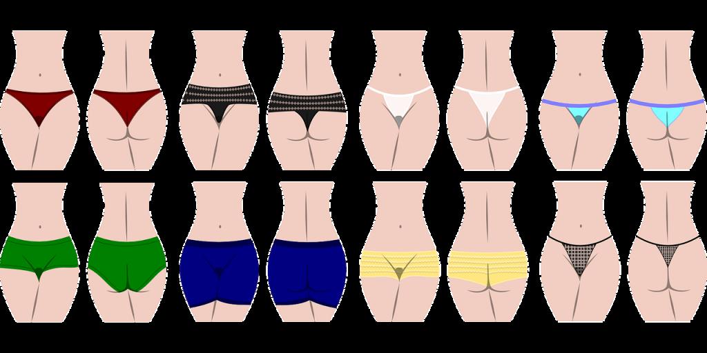 Les différents types de culottes