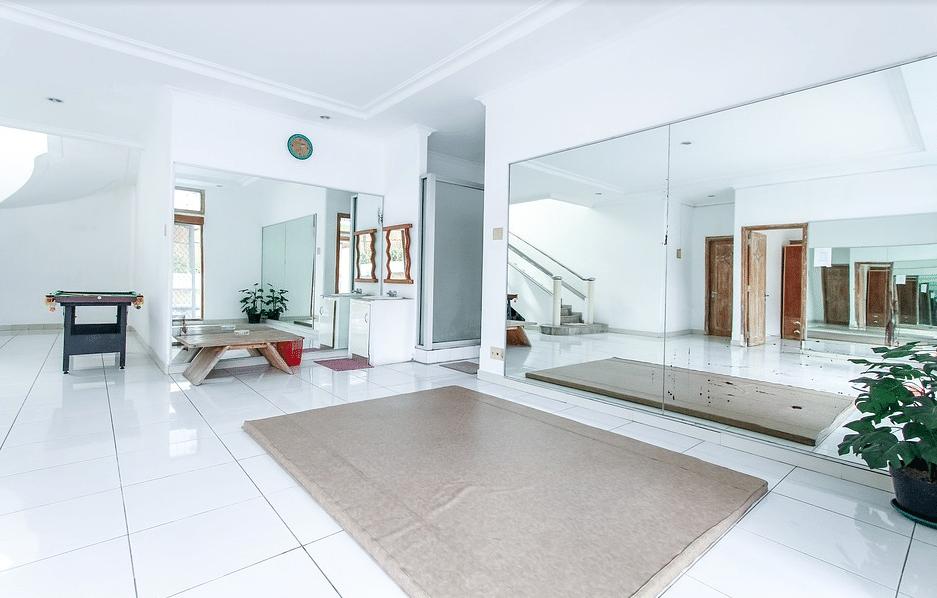 salon très propre