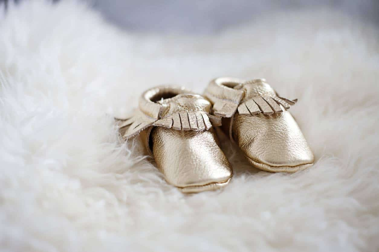 mocassins bébé