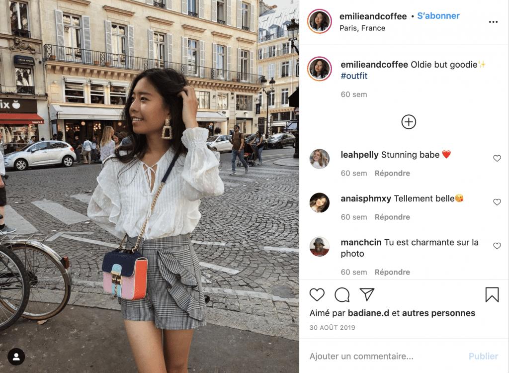 Emilieandcoffee blouse tendance