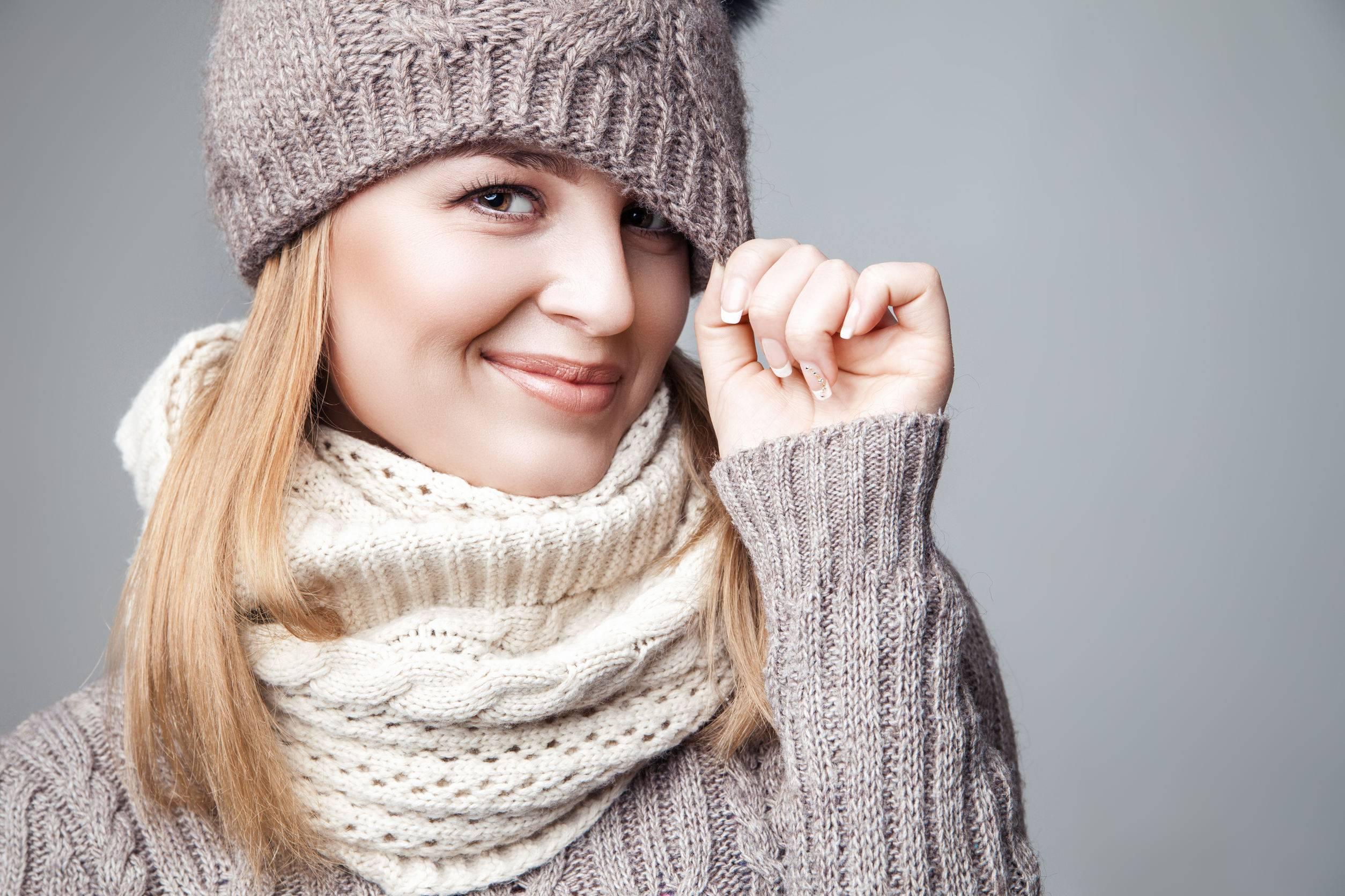 écharpe oversize pour l'hiver