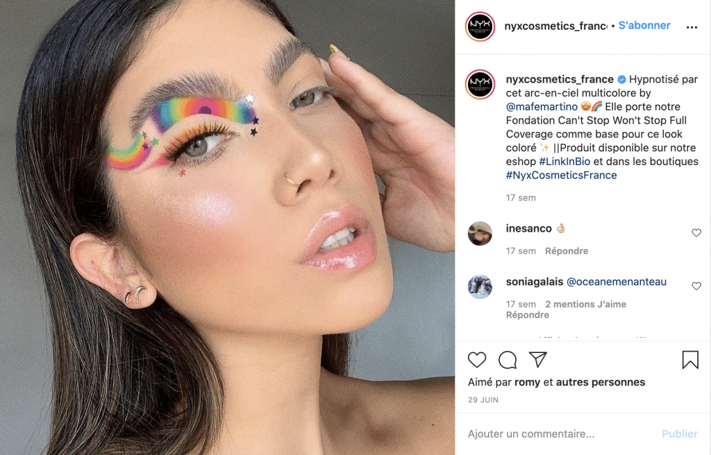 Nyxcosmetics meilleures marques maquillage pas cher