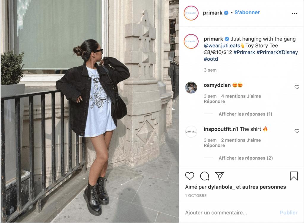Primark meilleure marque vêtements pas chers