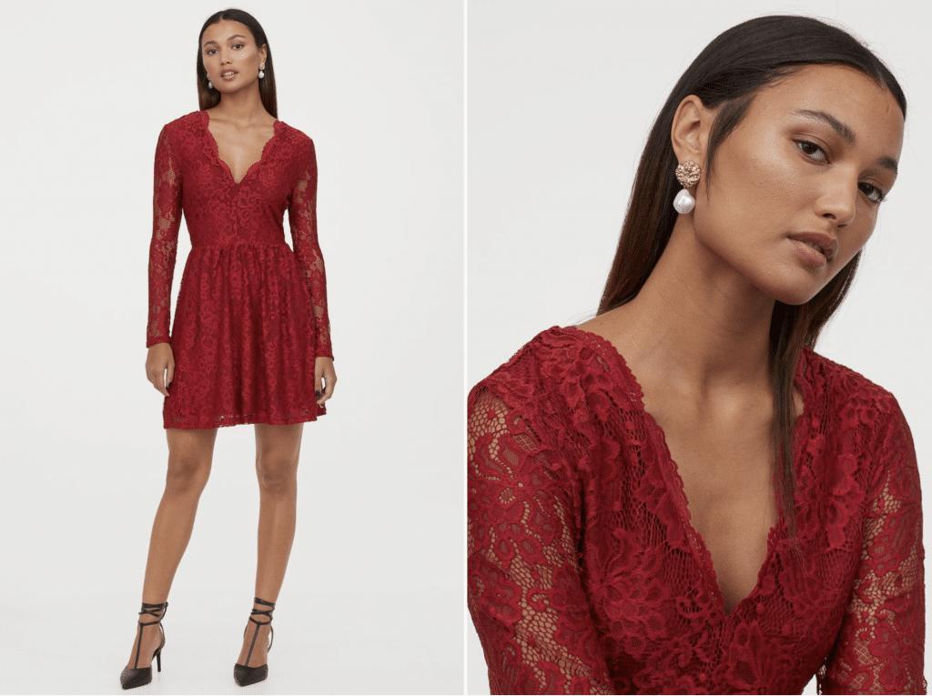 commander robe de soirée H&M
