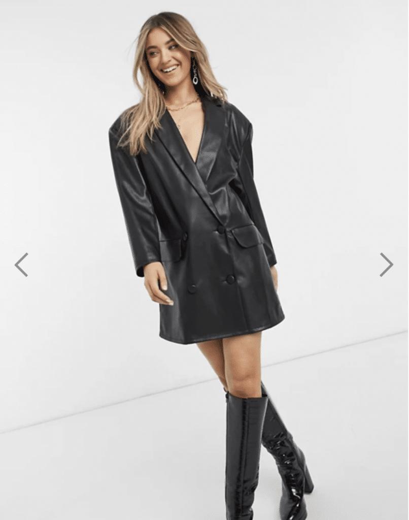 Asos boutique en ligne robe de soirée