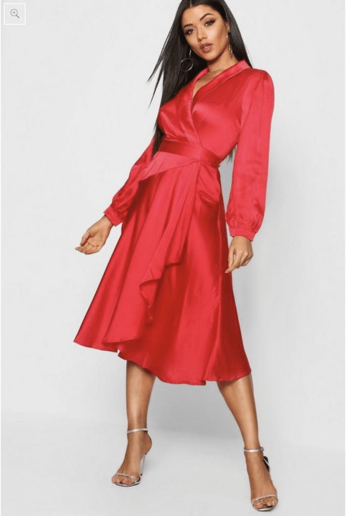 Boohoo robe de soirée à commander en ligne