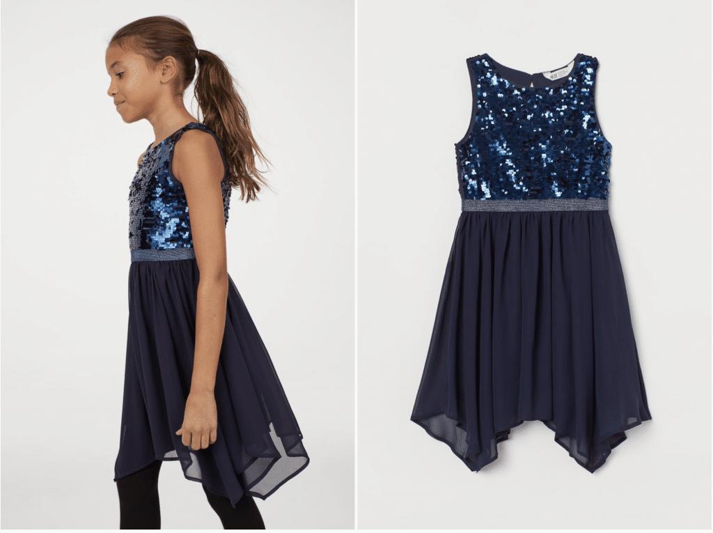 H&M robe de soirée fille 10 ans