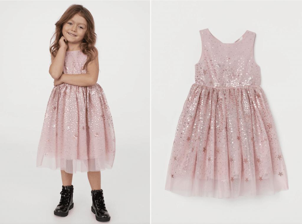 H&M robe de soirée de princesse