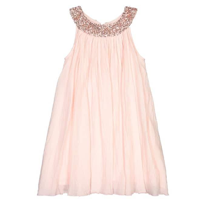 La Redoute robe de soirée adolescente rose