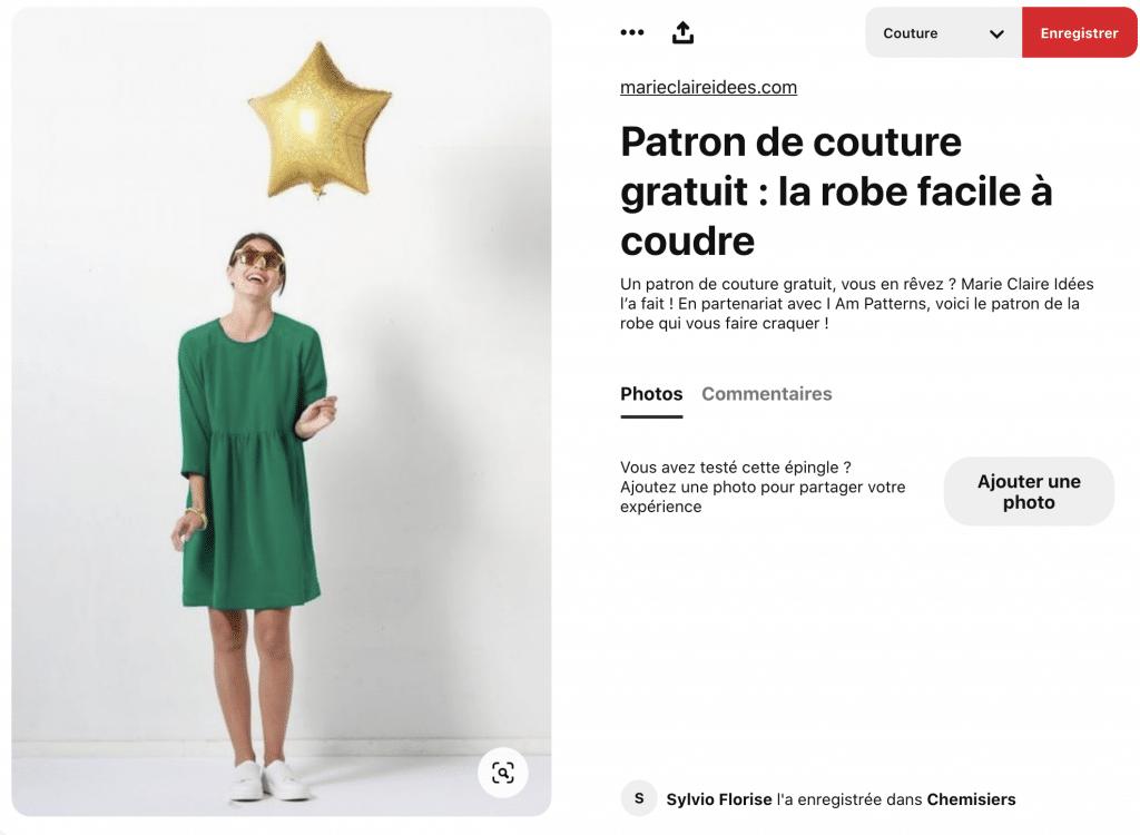 patron de couture gratuit pour robes faciles