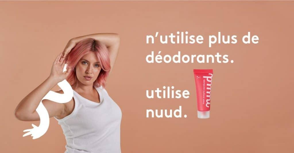 nuud care avis déodorant
