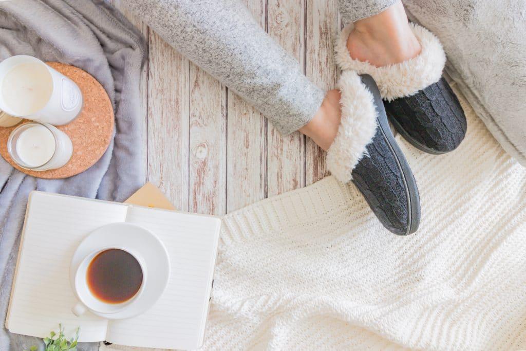 Une tenue confortable pour rester à la maison