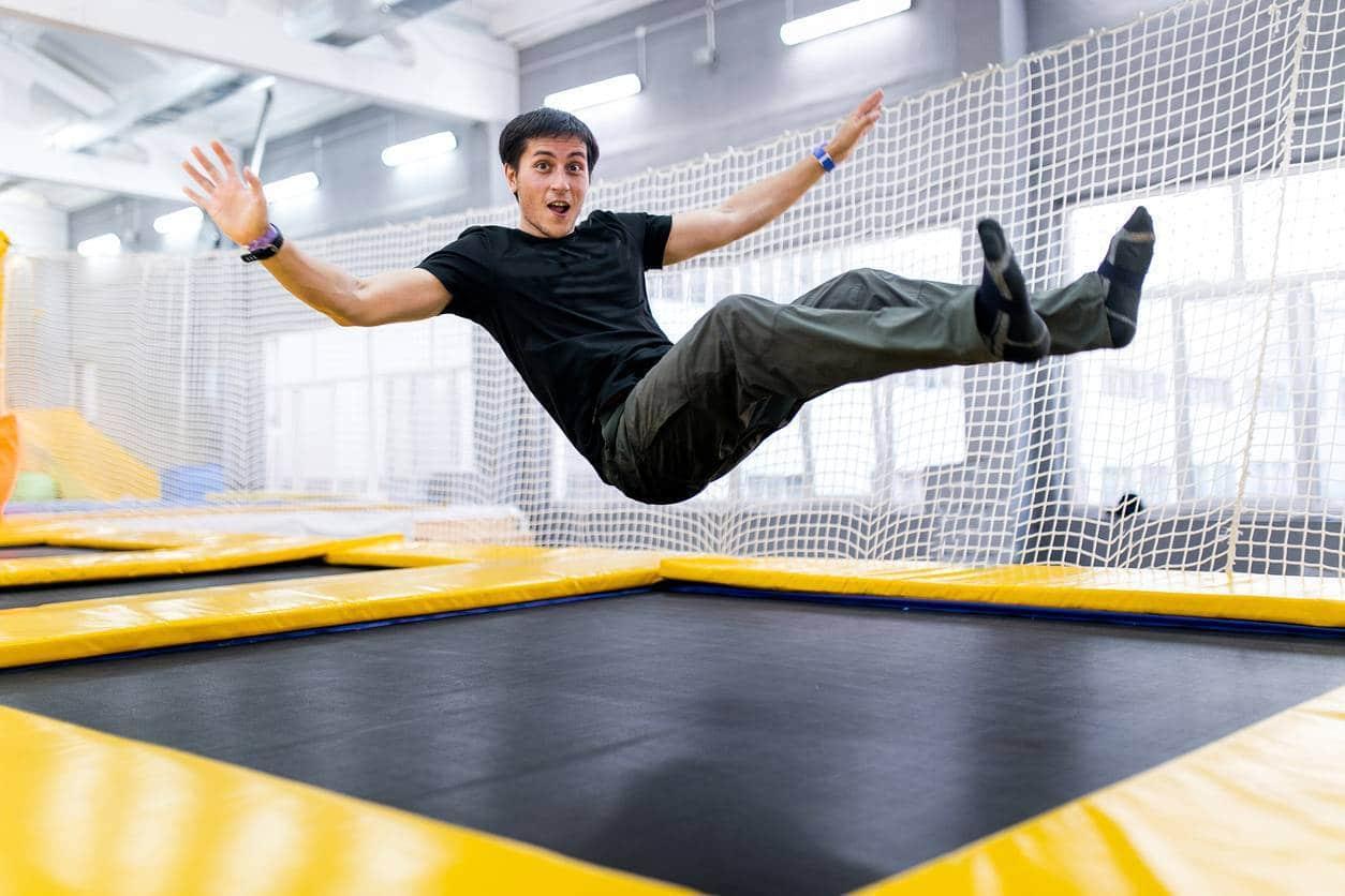 chaussettes pour trampoline
