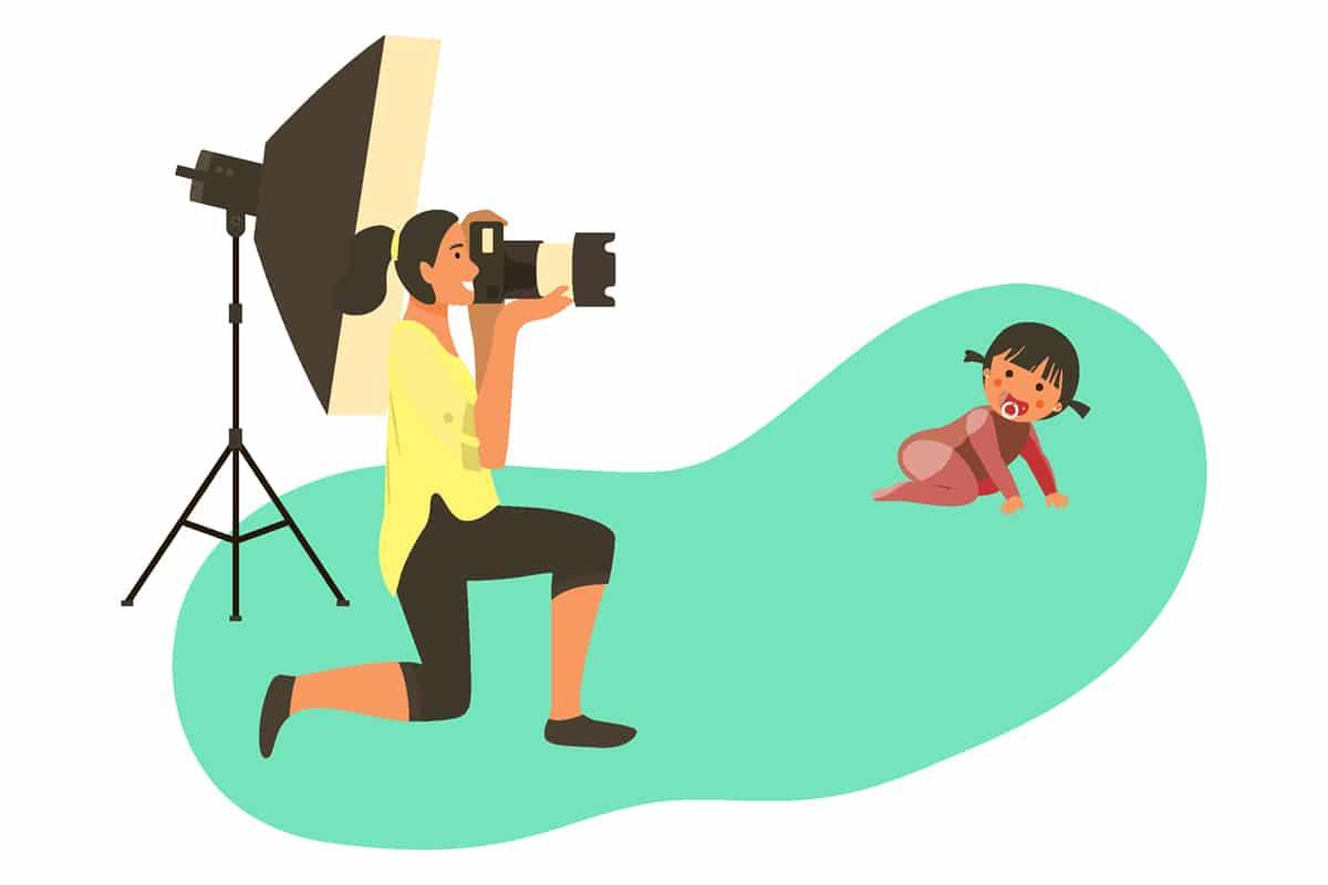 8 conseils pour faire vous-même une séance photo avec votre bébé