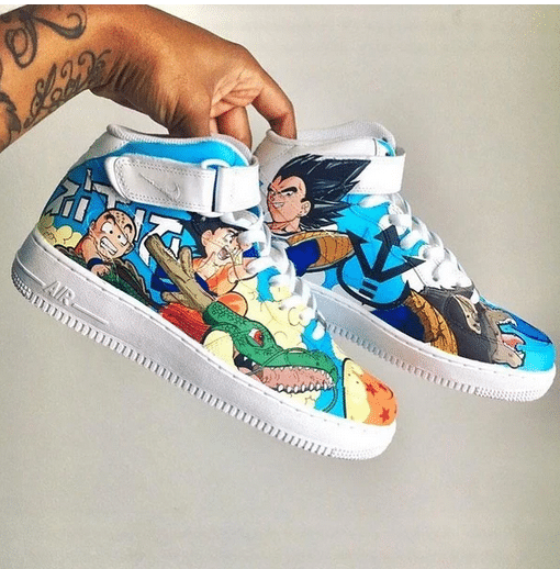 Les sneakers Nike customisés