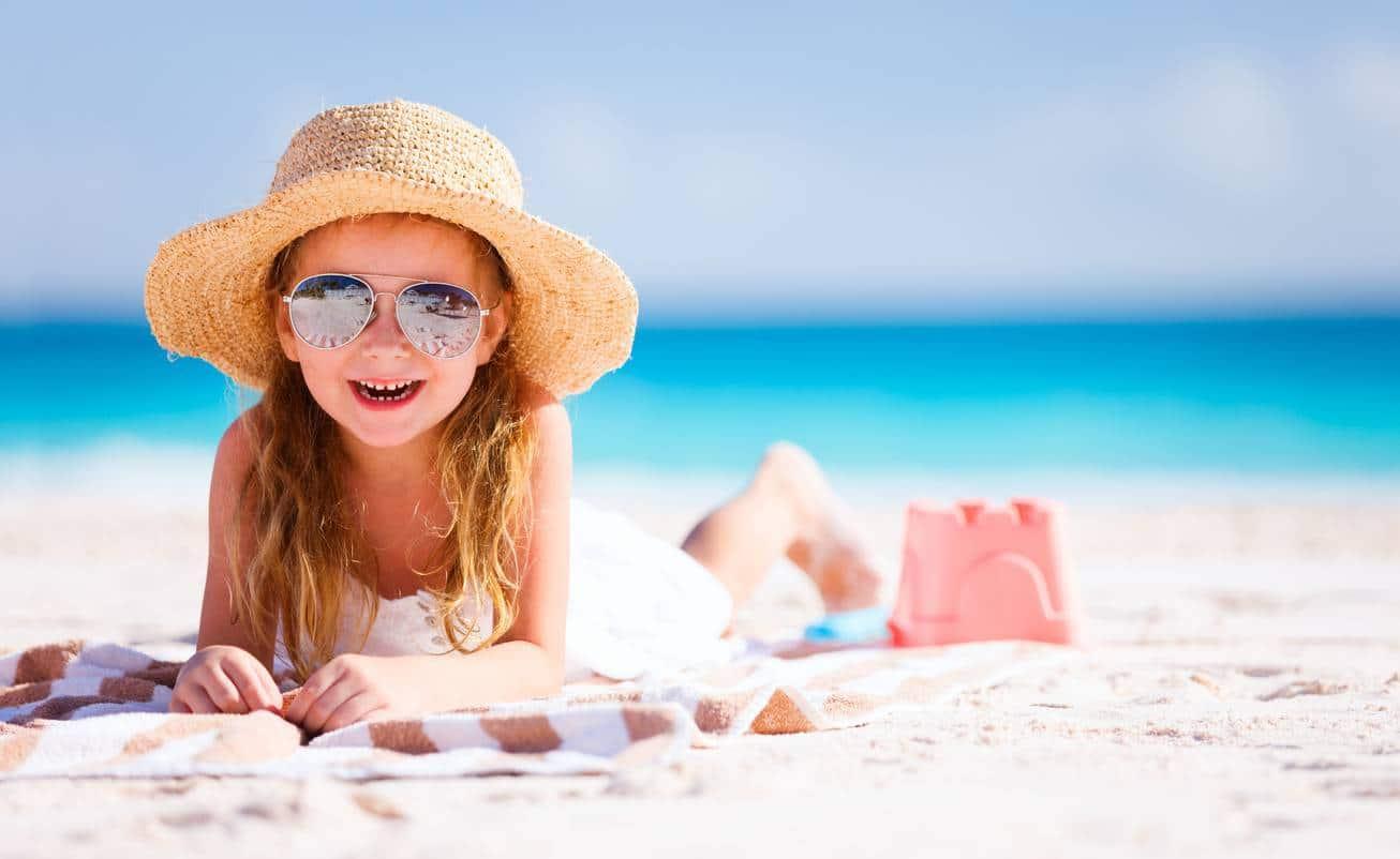 chapeaux de plage pour enfant