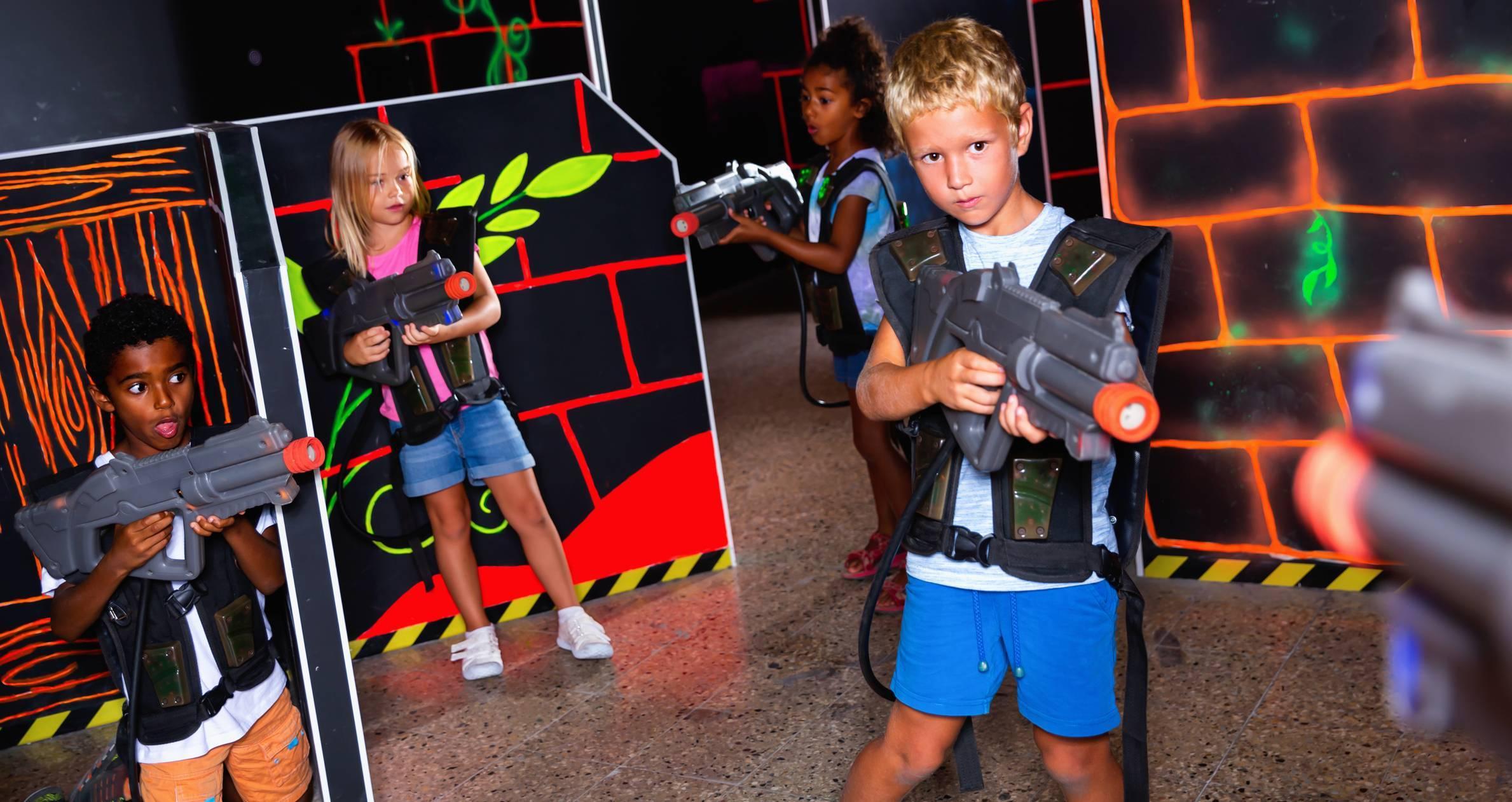 Laser game anniversaire enfant