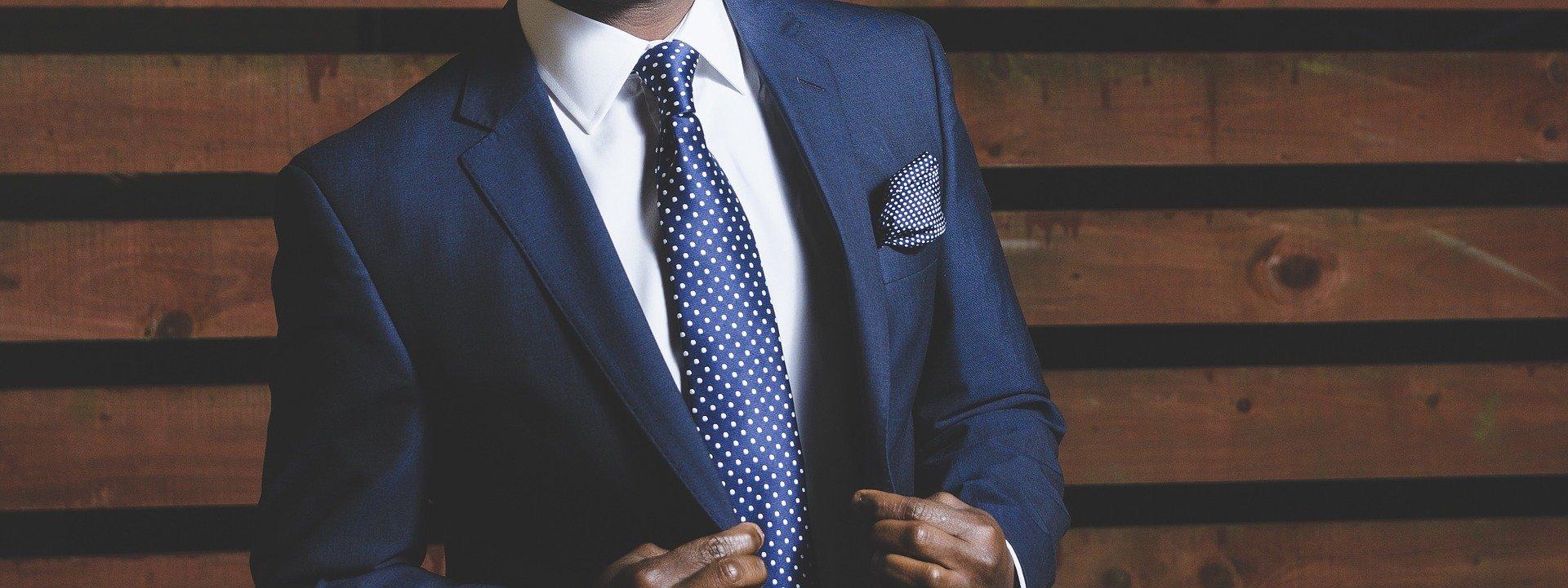 cravate homme tendance