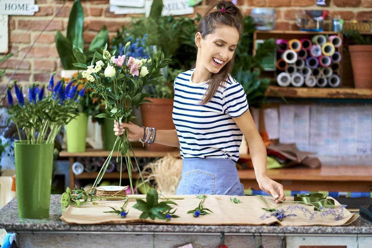offrez des fleurs de saison, écologie
