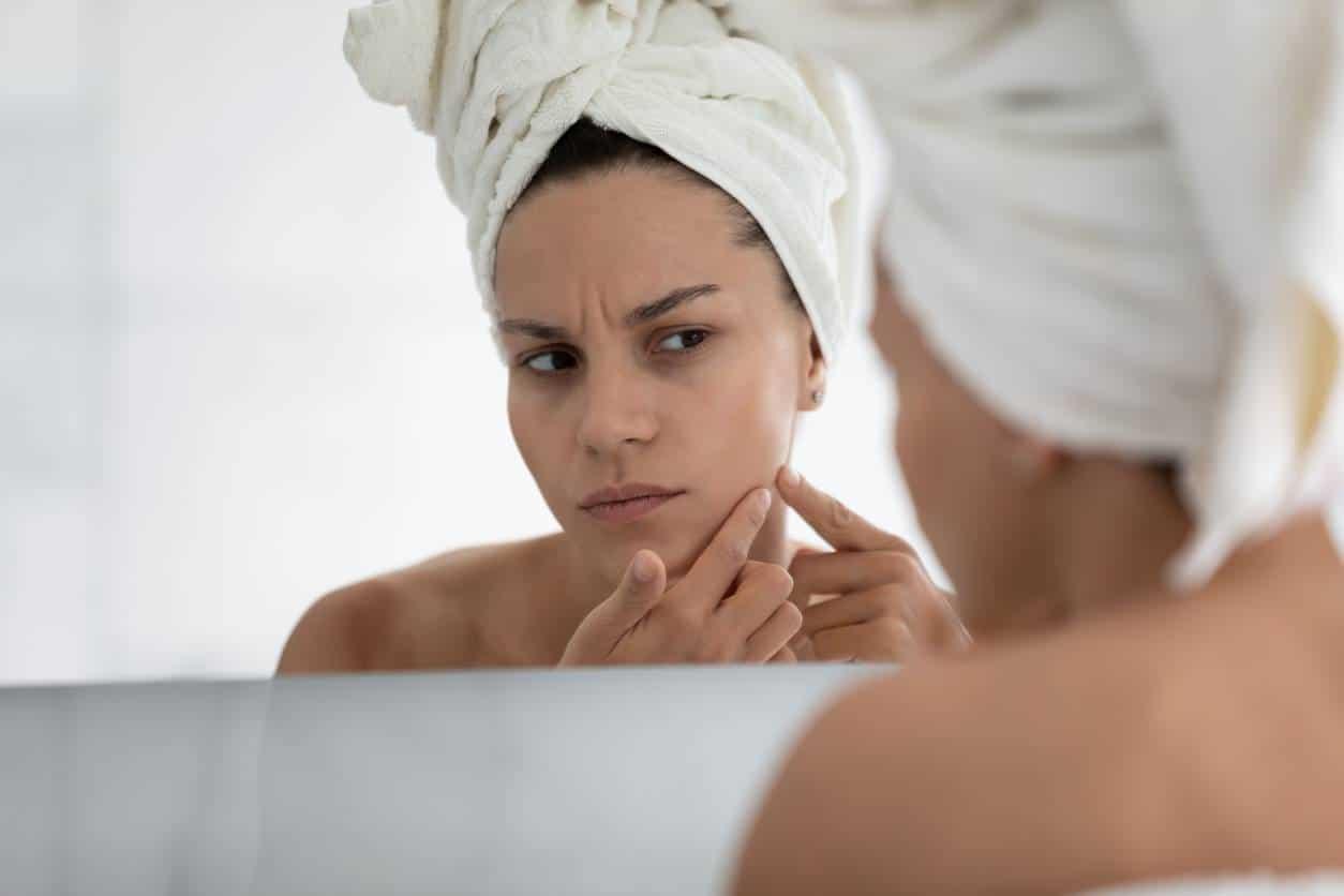 cause de la dilatation des pores