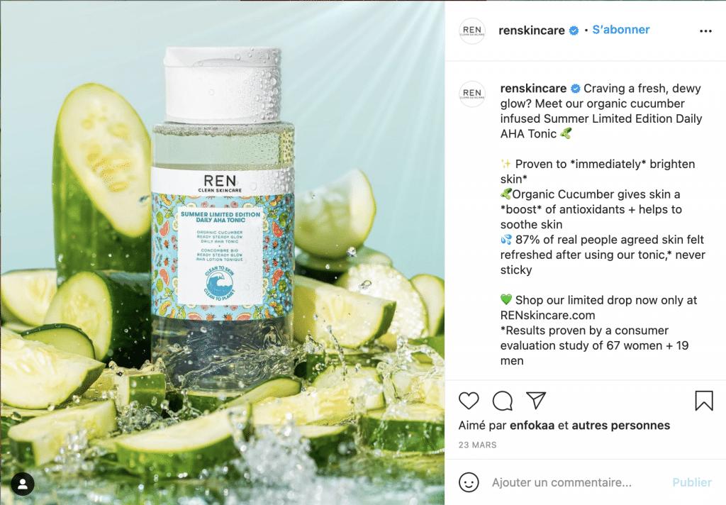 meilleurs produits ren skincare