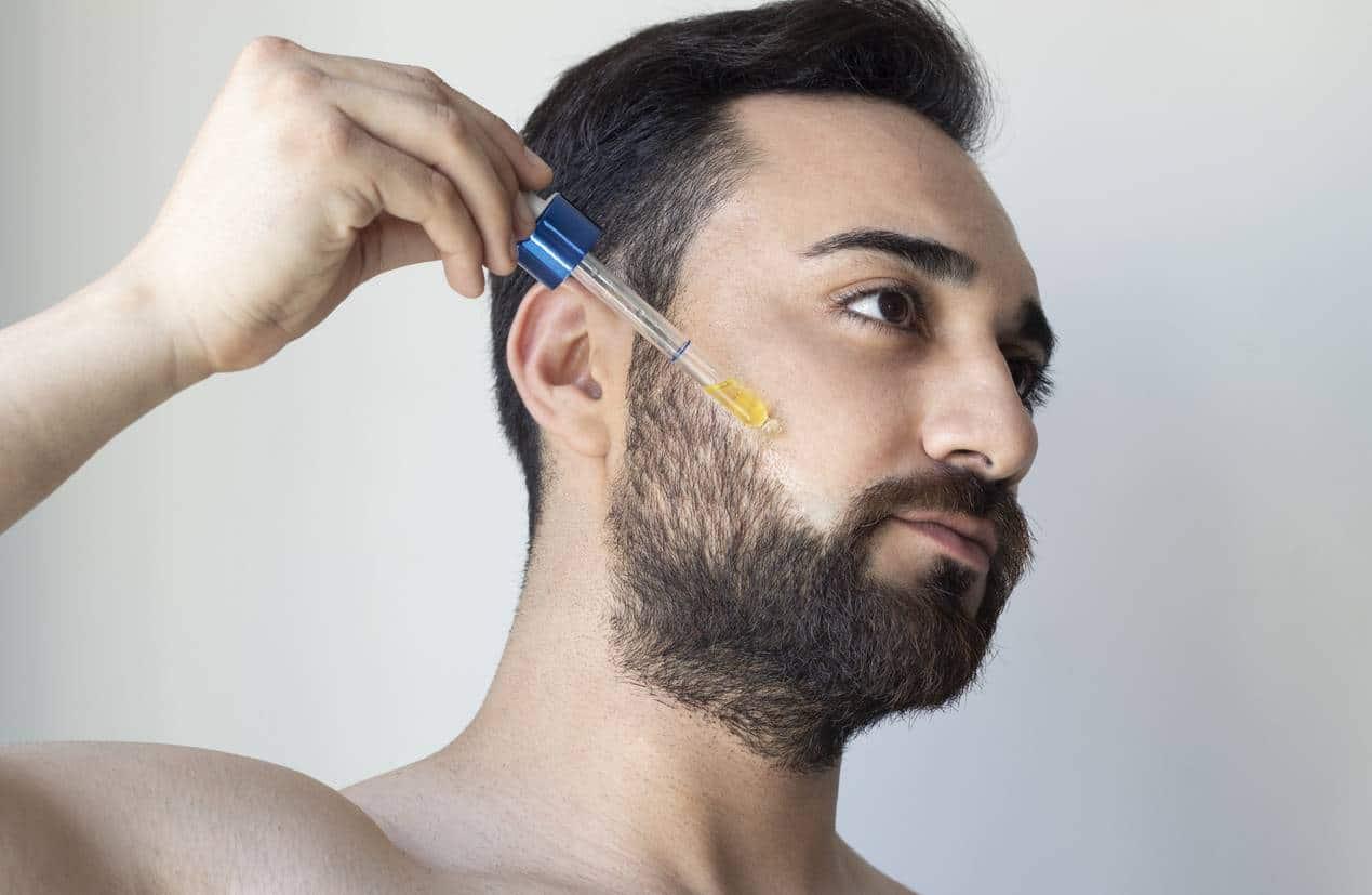 huile à barbe