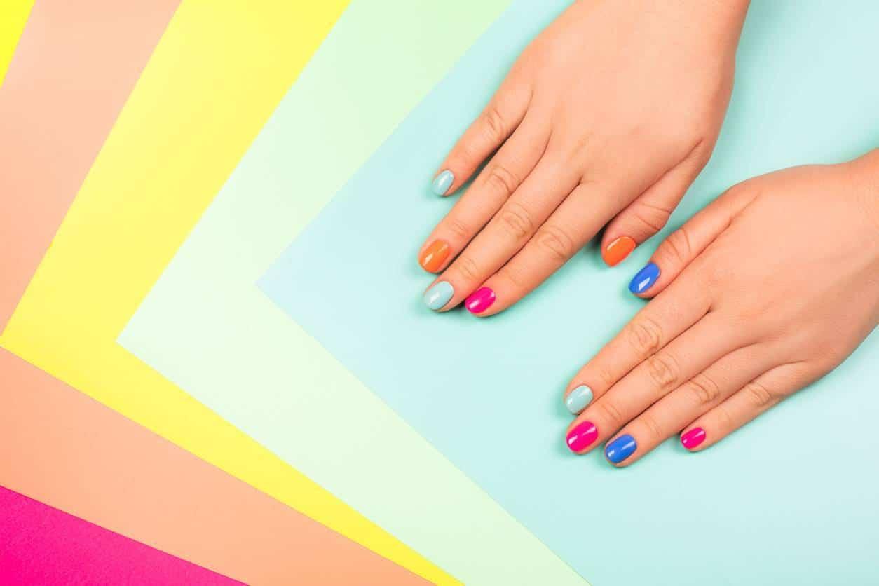 vernis à ongles manucure