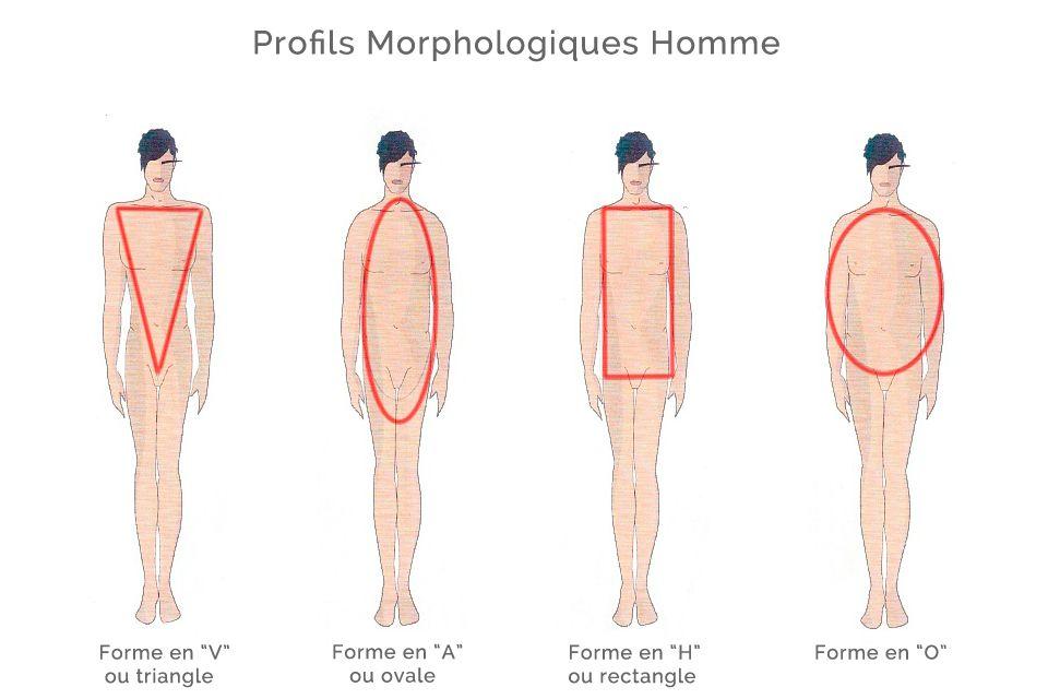 quelle est ma morphologie homme