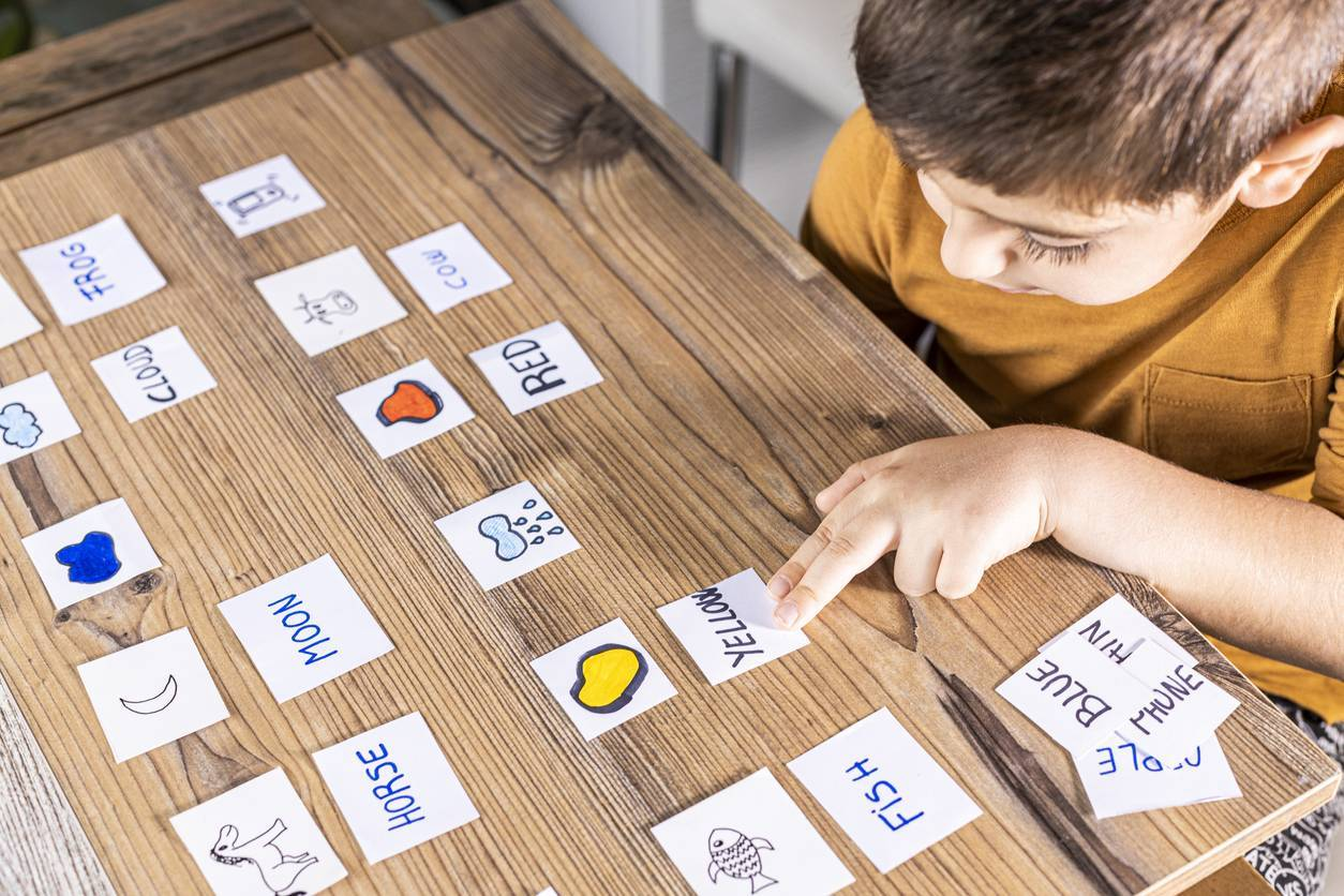 apprentissage de l'anglais enfant