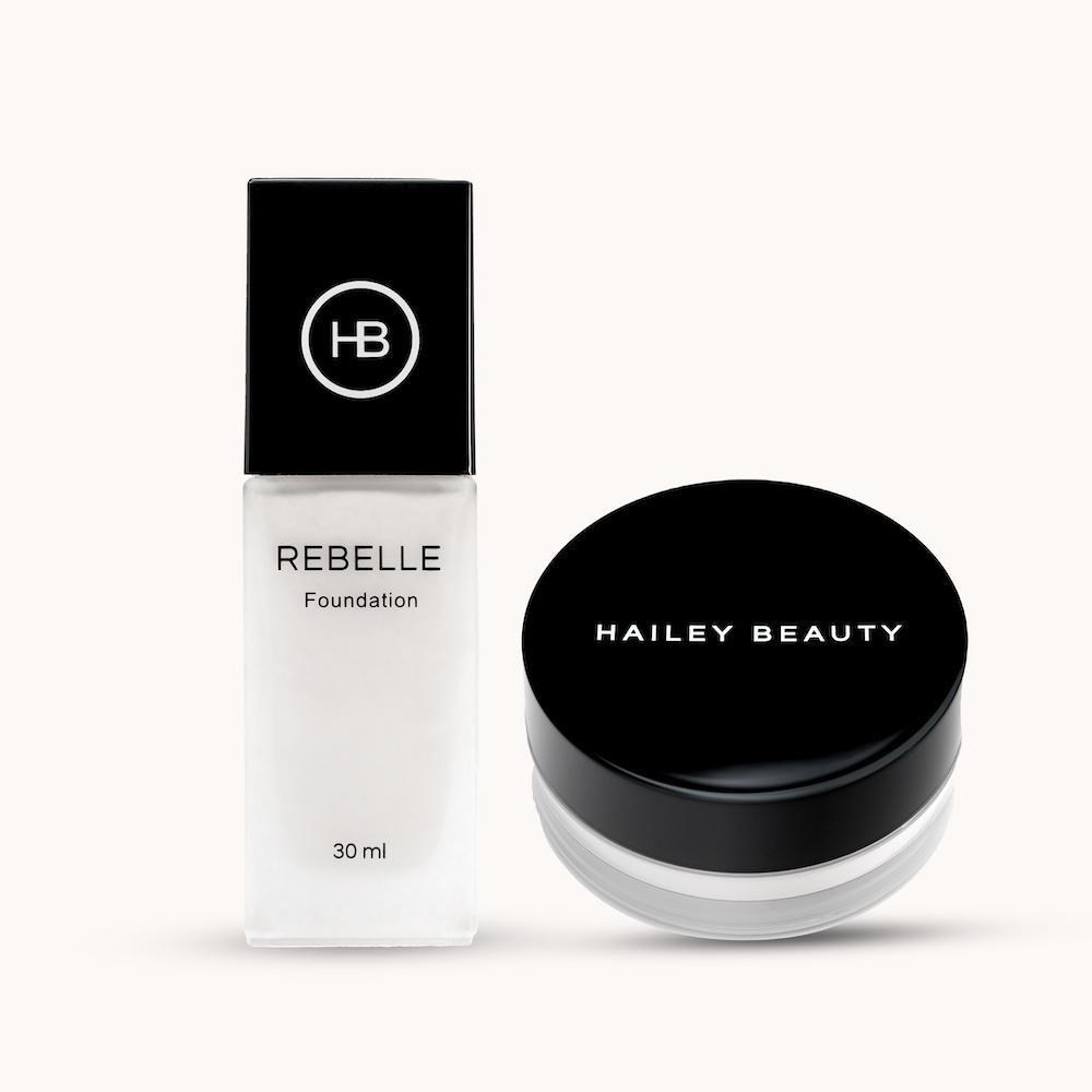 Le meilleur fond de teint blanc Rebelle de Hailey Beauty