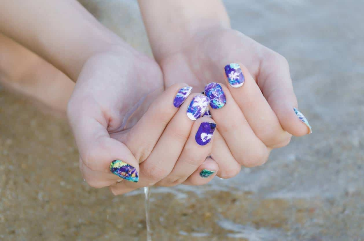 stickers pour ongles manucure