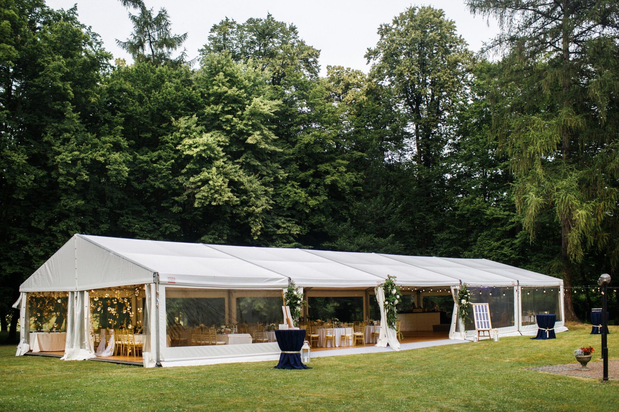 pourquoi louer une tente de réception ?